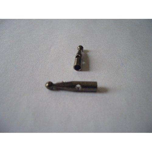 露先金属 3.8mm ブラック 4個入