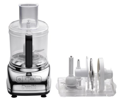 Dualit XL900 Compact Food Processor, Chrome