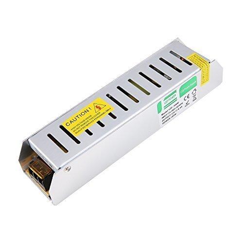 Liqoo® 100W DC 12V 8,4A LED Trafo Treiber Transformator Netzgerät Netzteil für Leuchmittel Streifen