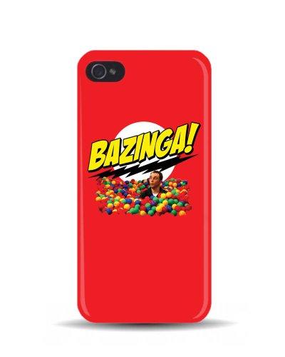 iPhone 5/5S del Big Bang Theory 'Bazinga della piscina' Sheldon Cooper GEEK 3D cover cellulare