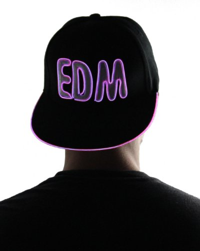 Light Up Hat - Edm (Pink)
