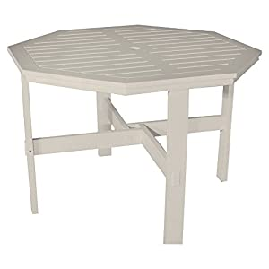 Poly Concepts Outdoor 42 In Octagon Dining Table With Umbrella