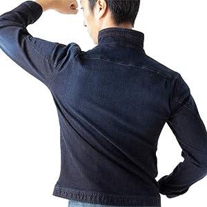 デニムジャケット LL HI06-CU1 サイズ:LL