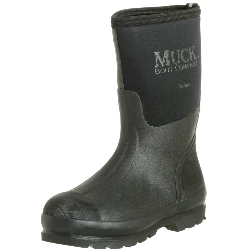 The Original MuckBoots Adult Chore Mid Boot,Black,Men's 12 M/Women's 13 M