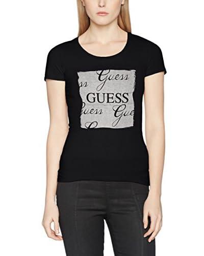 Guess T-Shirt Manica Corta Ss Glitter [Grigio Chiaro/Grigio]