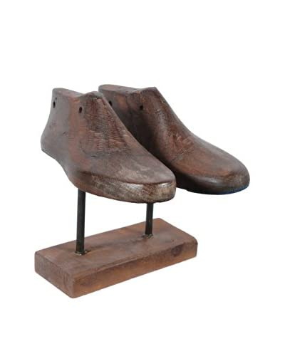 Double Shoe Mold, Espresso Horizontal