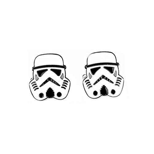 Star Wars Stormtrooper Cufflinks with Giftbox