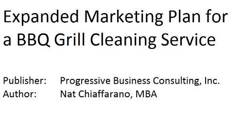 expanded marketing plan for a bbq grill cleaning service