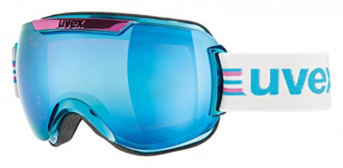 UVEX-Skibrille-downhill-2000-race-chrome-Cyan-Pink-ChromeLtm-Blue-One-size-S5501120429