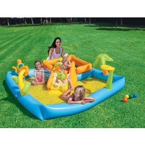 Playground Inflatable Activity Pool front-1040259