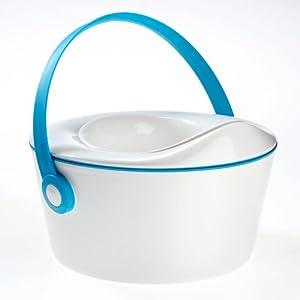 Orinal Azul Dot Pot marca Dot Baby en BebeHogar.com