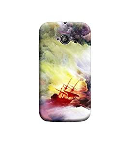 EPICCASE Premium Printed Back Case Cover With Full protection For Motorola Moto E2 (Designer Case)
