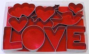 valentine's cookie cutter