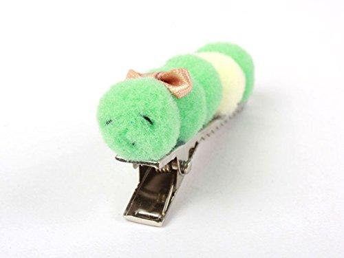 子供 ヘアピン 虫型 動物形 髪飾り 手作り B