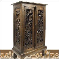 opiumschrank trauben kommode holz massiv asien 81cm d k che haushalt. Black Bedroom Furniture Sets. Home Design Ideas