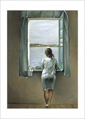 Salvador dali kunstdruck was for Fenster 70x50