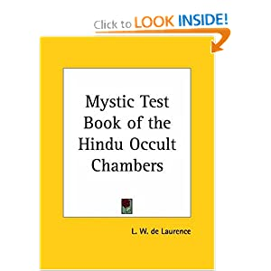 Amazon.com: Mystic Test Book of the Hindu Occult Chambers ...