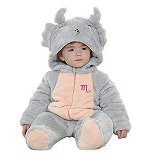 M&a Mono Body Pijama Jumpsuit OtoÑo Invierno Para BebÉ NiÑo NiÑa Unisex en BebeHogar.com