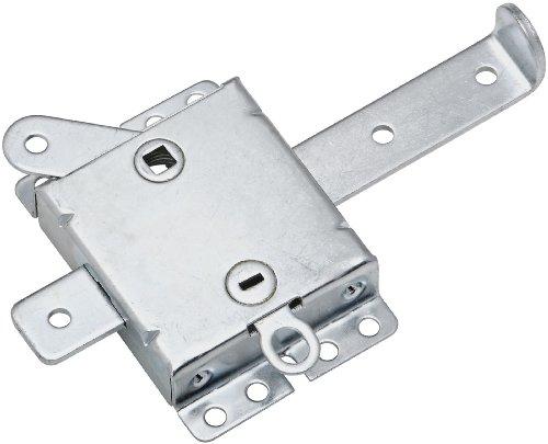 Images for National Hardware V7647 Garage Door Side Lock for Use with V7642 Locking Handle, Zinc, 7-1/2-Inch Wide