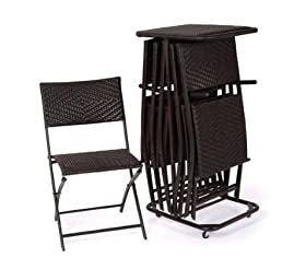 Rst Outdoor Perfect Folding Chair Six Pack Patio Furniture By Rst