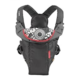 Infantino Swift Classic Carrier Black, Padded Straps for All Day Comfort, New