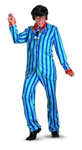 Disguise Austin Powers Carnaby Suit Deluxe 50-52 Costume