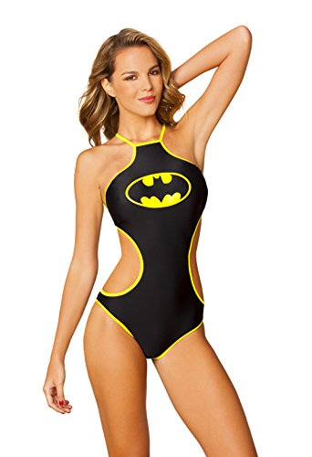 DC Comics Batman High Neck Halter Monokini