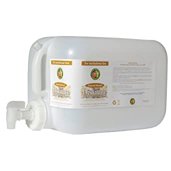 Earth Friendly Products Proline PL9700/05U Dishmate Almond Ultra-Concentrated Liquid Dishwashing Cleaner, 5 gallon Deltangular