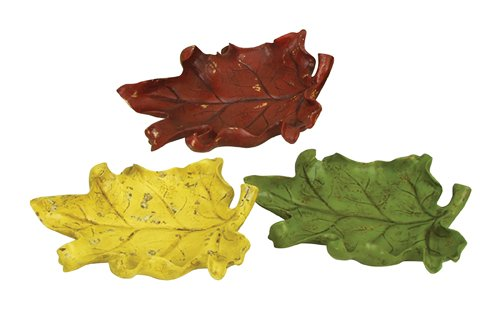 Sterling Industries Autumn Leaf Decorative Dishes,