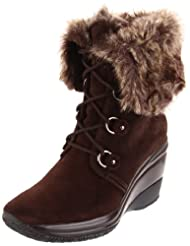 Aquatalia By Marvin K. Women's Brass Lace-Up Boot