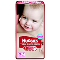 Huggies Total Protection Extra Large Size Diapers (5 Count)