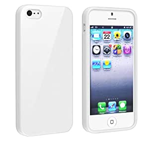 Amazon.com: White Jelly Rubber Gel TPU Case For iPhone 5: Cell Phones