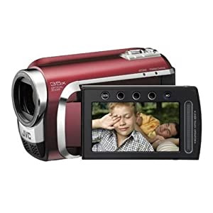 Ukdapper - JVC Everio GZMG630 Red 60GB HDD Camcorder