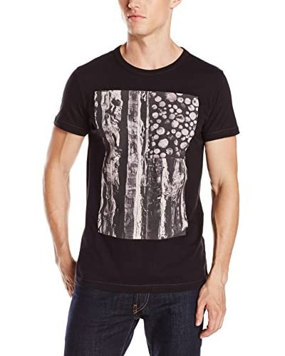 French Connection Men's Log and Stripes T-Shirt