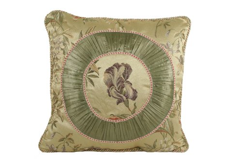 Croscill Iris Fashion Pillow, 20-Inch By 20-Inch, Multi front-764191