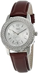 Timex Fashion Analog Silver Dial Womens Watch - T2N152