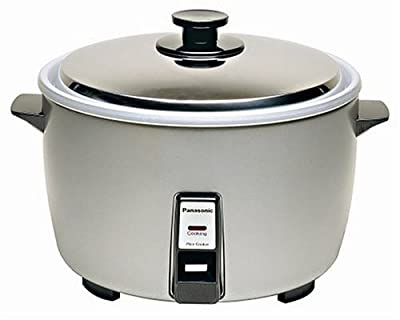 "Panasonic SR-42HZP 23-cup (Uncooked) Commercial Rice Cooker, ""NSF"" Approved, Stainless Steel Lid by Panasonic"