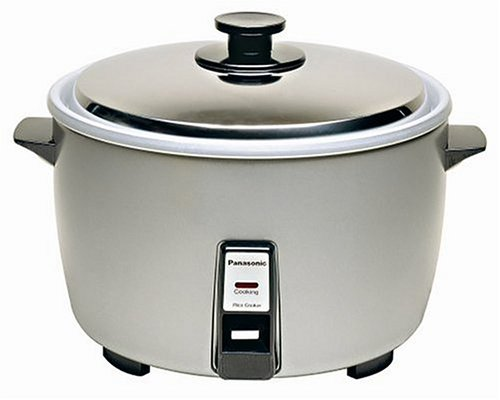 "Panasonic SR-42HZP 23-cup (Uncooked) Commercial Rice Cooker, ""NSF"" Approved, Stainless Steel Lid – Special Offer thumbnail"
