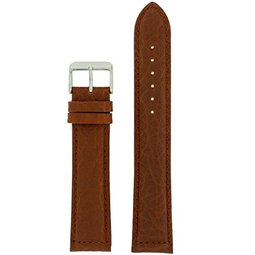 24mm Leather Watch Band