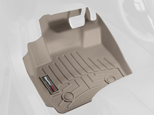 Weathertech Custom Fit Front Floorliner For Audi A4/S4/Rs4, Tan
