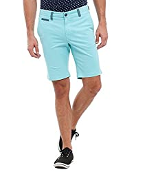 Parx Men's Cotton Shorts (8907253449124_XMHX00192-N6_36_Dark Green)