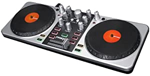 Gemini FIRSTMIX - Controlador de DJ (USB), color plateado