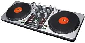 Gemini FirstMix - controladores dj (2.0, USB B, USB, 36 cm, 13,5 cm, 4,9 cm) Negro, Plata