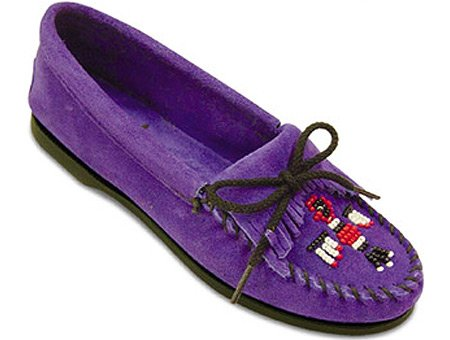 Women's Thunderbird Moccasins! Cut from only the best leathers.