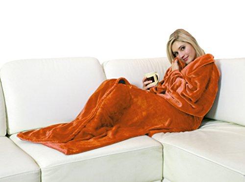 walser-13680-manta-bata-snuggle-con-mangas-naranja