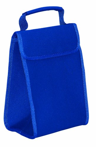 Neoprene Insulated Cooler Lunch Bag, Royal by BAGS FOR LESSTM - 1