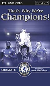Chelsea Fc - That's Why We're Champions! [UMD pour PSP] [Import anglais]