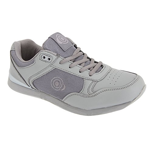 Dek Damen Kitty Bowling-Schuhe / Sneakers / Turnschuhe (Grau)