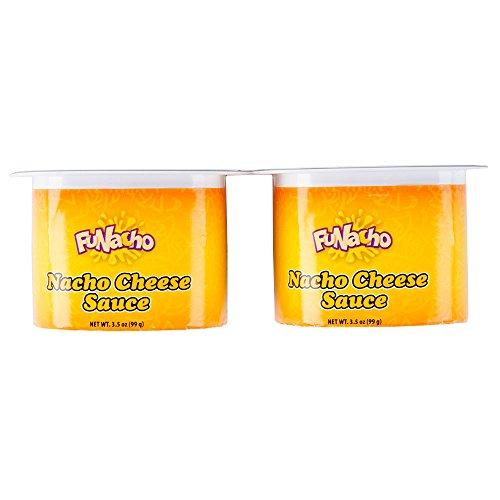 FUNacho Nacho Cheese Single Serve Cups (48 count/3.5 oz each) (Single Serve Cheese compare prices)