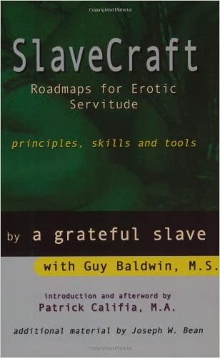 SlaveCraft: Roadmaps for Erotic Servitude--Principles, Skills and Tools written by Guy Baldwin